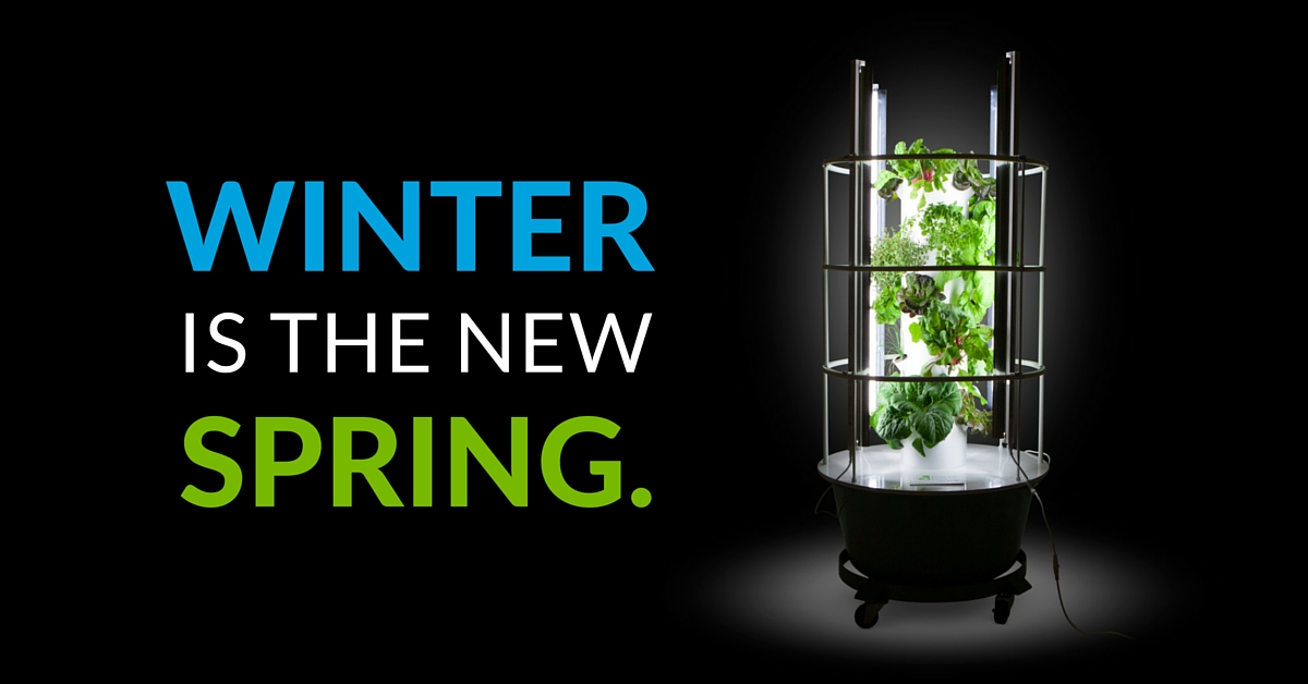 Indoor gardening why winter is the new spring for Indoor gardening machine